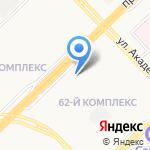 Нур на карте Набережных Челнов