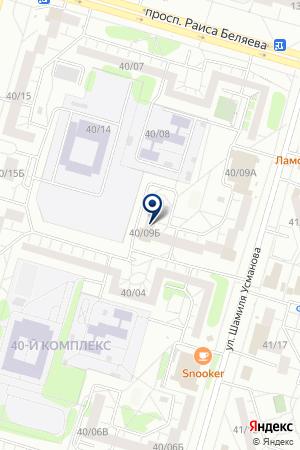 АПТЕКА РОДНИК на карте Набережных Челнов