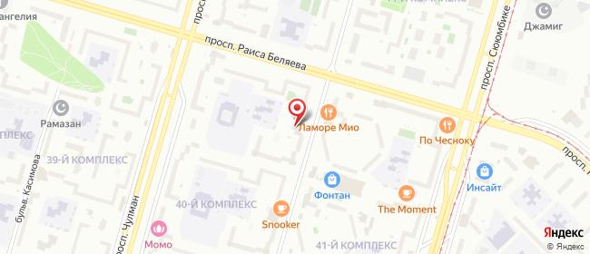 Карта расположения пункта доставки Lamoda/Pick-up в городе Набережные Челны