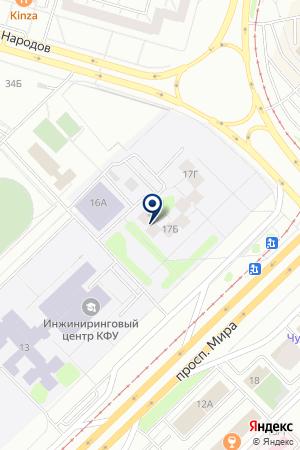 ТФ ПЛАНЕТА на карте Набережных Челнов