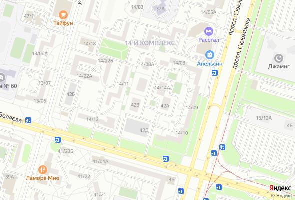 жилой комплекс Центральный (14 комплекс)