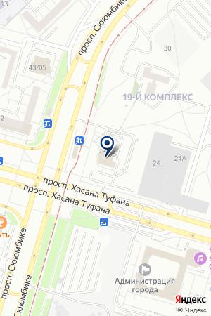 ГУ МЕЖБАНКОВСКАЯ РЕГИОНАЛЬНАЯ СТРАХОВАЯ КОМПАНИЯ на карте Набережных Челнов