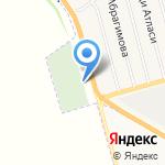 Нижнемактаминское кладбище №3 на карте Альметьевска