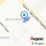 Василек на карте Набережных Челнов