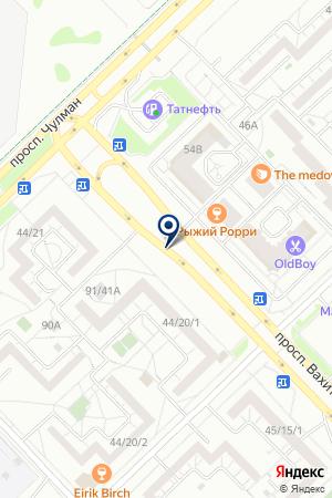 МАГАЗИН АВТОЗАПЧАСТЕЙ АВТОЗИЛЦЕНТР на карте Набережных Челнов
