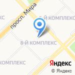 Пульт централизованной охраны №4 на карте Набережных Челнов