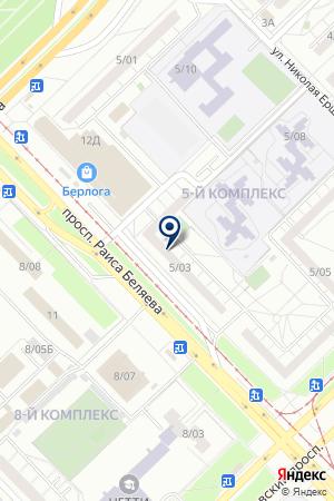 ГСК ЧАЙКА на карте Набережных Челнов