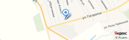 Магазин хозяйственных товаров на ул. Хади Атласи на карте Альметьевска