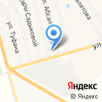 Лачын на карте Альметьевска