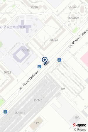 АВТОСТОЯНКА ПРЕСТИЖ на карте Набережных Челнов