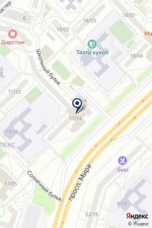 МОЛОДЕЖНЫЙ ЦЕНТР ШАТЛЫК на карте Набережных Челнов