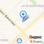 Домашний Челны на карте Набережных Челнов