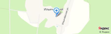 Следопыт на карте Ильичевского