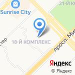 Гимназия №26 на карте Набережных Челнов