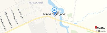 Храм Живоначальной Троицы на карте Суровки