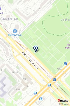 АГЕНТСТВО ПО ТРУДОУСТРОЙСТВУ ЭЙДОС на карте Набережных Челнов