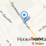 Гастроном №2 на карте Альметьевска
