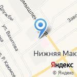 Бочка на карте Альметьевска