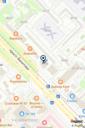 100KVADRATOV на карте Набережных Челнов