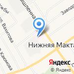 Альметьевская центральная районная поликлиника №2 на карте Альметьевска