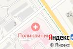 Схема проезда до компании Альметьевская центральная районная поликлиника №2 в Нижней Мактаме