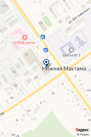 AksRem на карте Нижней Мактамы