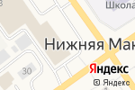 Схема проезда до компании Банкомат, АК Барс банк, ПАО в Нижней Мактаме