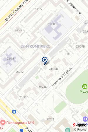 ГСК ИДЕАЛ на карте Набережных Челнов