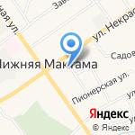Альметьевская детская школа искусств №2 на карте Альметьевска