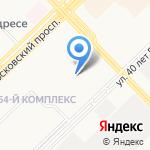 Автошкола Кама на карте Набережных Челнов