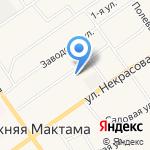 Родничок на карте Альметьевска