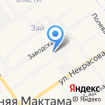 Калинка на карте Альметьевска