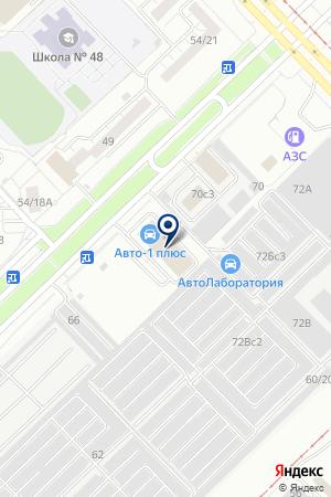 ТФ АВТОТЕХСНАБ-НК на карте Набережных Челнов