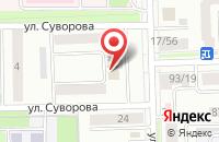 Схема проезда до компании ТНГ - Ленбурнефть в Лениногорске