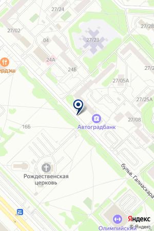 АВТОСТОЯНКА КАМСИТ на карте Набережных Челнов