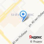 Каминструмент на карте Набережных Челнов
