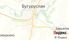 Гостиницы города Бугуруслан на карте