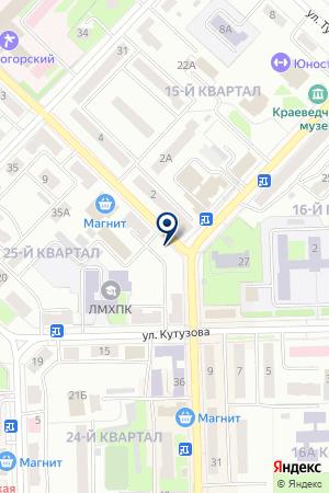 ЖКХ ЖИЛИЩНИК на карте Лениногорска