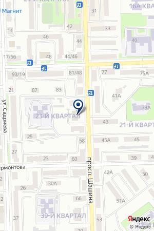 ЛЕНИНОГОРСКИЙ ФИЛИАЛ ДЕВОН-КРЕДИТ на карте Лениногорска