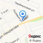 Парикмахерская на карте Альметьевска