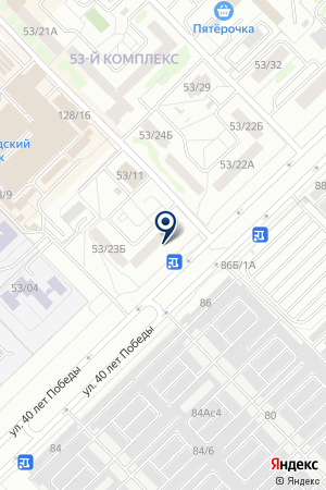 ГСК КУРС-3 на карте Набережных Челнов