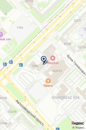 АВТОСТОЯНКА КАШТАН на карте Набережных Челнов