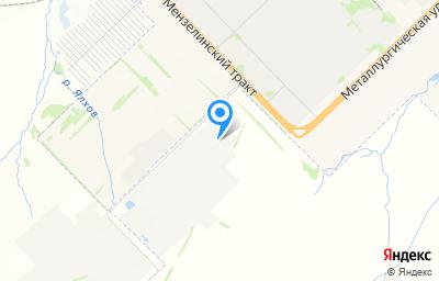 Местоположение на карте пункта техосмотра по адресу Респ Татарстан, г Набережные Челны, промзона Стройбаза