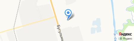 Альметьевское транспортное управление на карте Альметьевска