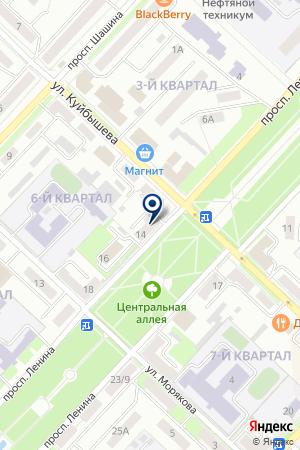 МАГАЗИН АВТОЗАПЧАСТЕЙ СТРЕЛЕЦ на карте Лениногорска