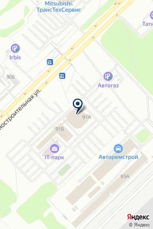 ЛАОШИ на карте Набережных Челнов