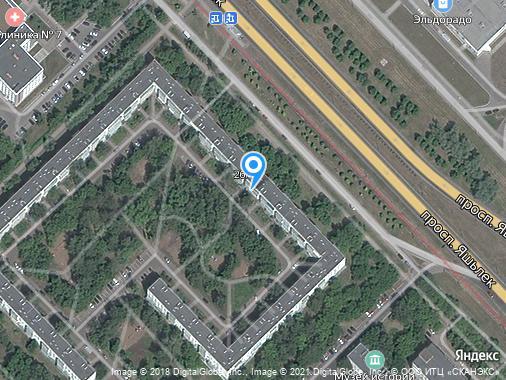 Продаем 2-комнатную квартиру, 46 м², Набережные Челны, проспект Яшьлек, 11