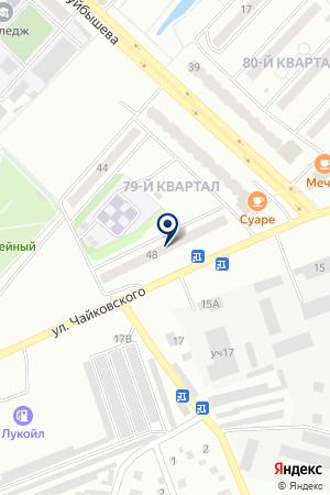 МАГАЗИН АВТОЗАПЧАСТЕЙ ТРАНЗИТ на карте Лениногорска