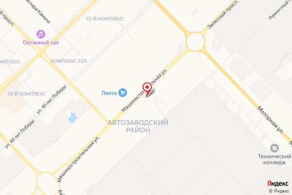 Офис продаж АвтоЕвро: Наб. Челны (г. Набережные Челны ул. Машиностроительная, 109)