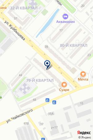 ЖКХ АРГО на карте Лениногорска
